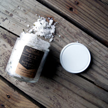Sea Buckthorn and Dead Sea Salt Scrub: Scented and Unscented Natural