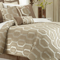 8 Piece Tencel Comforter Set