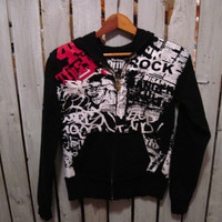 Forty Thieves Black Label Hoodie, Size Extra Small (XS) ON SALE