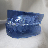 Smile Wide - Life Size Cast Resin Medical Teeth Sculpture