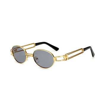 MINCL/Vintage Designer Fashion Sunglasses Oval Frame UV Protection