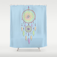 DREAM CATCHER V.2 Shower Curtain by haleyivers