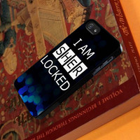 Sherlock Holme I am Sher Locked Personalized case for ipod case and iphone case and samsung galaxy s3 s4 s5 case