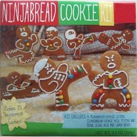 In The Mix Ninjabread cookie kit