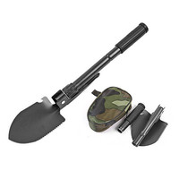 Outdoor Survival Multifunction Folding Shovel