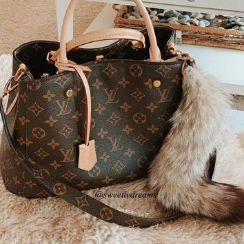 LV Tide brand women's fashion wild shopping bag shoulder bag Messenger bag