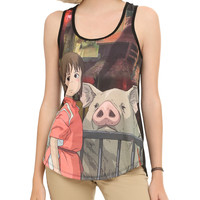 Studio Ghibli Her Universe Spirited Away Girls Tank Top