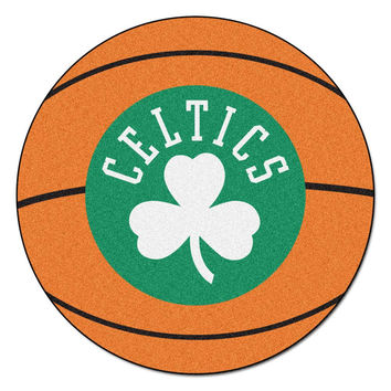 Boston Celtics NBA Basketball Mat (29 diameter)