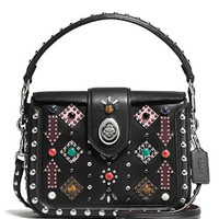 COACHAll Over Western Rivets Page Crossbody
