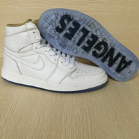 "Air Jordan 1 Retro OG High ""Los Angeles"" Men Basketball Shoes"