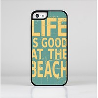 The Grungy Life Is Good At The Beach Skin-Sert Case for the Apple iPhone 5c