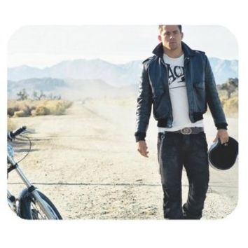 Custom Channing Tatum Rectangular Mouse Pad - Custom Your Own MP-464