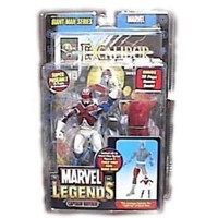 Marvel Legends Exclusive Series Action Figure Captain Britain with Giant Man ...