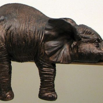 Shelf Sitting Elephant