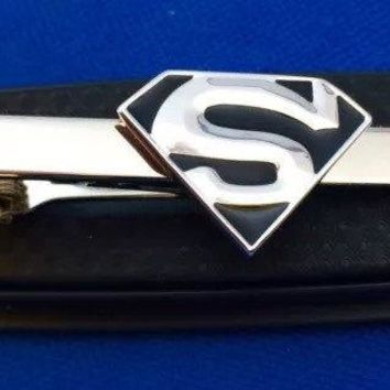 Superman tie clip gift idea tie clasp~Handmade in the USA~FAST Shipping from the USA