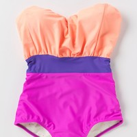 Sherbet Striations Maillot