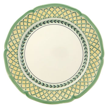 French Garden Orange Dinner Plate, Dinner Plates
