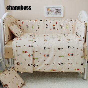 New Arrivel Baby Bed Set,Crib Bedding Cot Set Baby Quilt Crib Bumper,Baby Comforter Sheets,Infant Bed Mattress Nursery Cot Liner