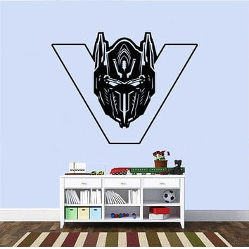 Transformers Wall Decal,Prime Wall Sticker,Bumblebee wall decal,Kids Wall sticker,Bedroom Wall Sticker,Nursery wall decal kau 276