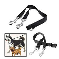 Nylon Double Lead Coupler Twin Dog Two Pet Dog Walking Duplex Leash Splitter
