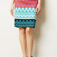 Montagne Pencil Skirt by Tracy Reese Dark Turquoise 8 Skirts