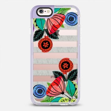 Botanical sweetness marble light iPhone 6s case by Famenxt | Casetify