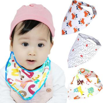 1 piece Baby Bandana Drool Bibs Super Absorbent 100% orignal Cotton for Drooling Teething and Feeding, Perfect Baby Shower Gift