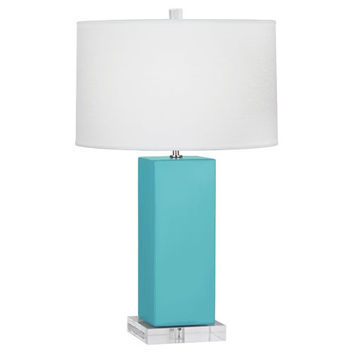 Harvey Table Lamp | Egg Blue