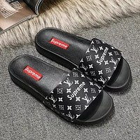 Louis Vuitton LV Women Fashion Slipper Flats Shoes