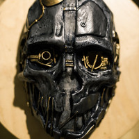 Corvo Attano Inspired Dishonored Korvo Fan Art mask game cosplay rat assassin costume