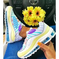 Nike Air Max 98 Sneakers Trending Shoes Rainbow Colorful