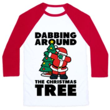 DABBING AROUND THE CHRISTMAS TREE