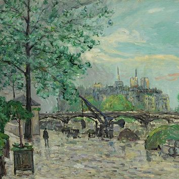 Maxime Maufra 1861 - 1918 Port Louvre After Storm