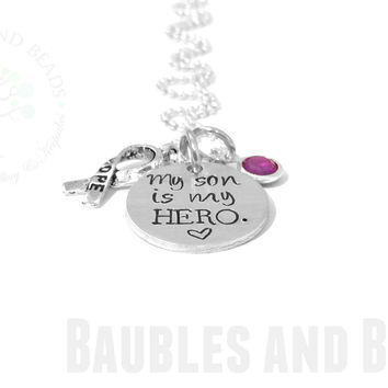 Epilepsy Necklace ~ Custom Medical ID