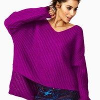 Cambridge Knit - Fuchsia