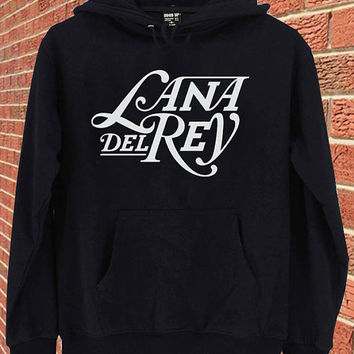 Lana del rey logo Sweater - Customized Sweatshirt hoodie Unisex Adult size S,M,L,X,XXL