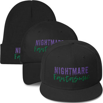 Nightmare Fantasmic Hat. Disney's Hollywood Studios & Disneyland's Fantasmic Inspired Hat. Snapback, Dad Hat and Beanie