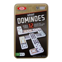 Ideal 91-pc. Whoa! Colored Dot Dominoes