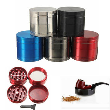 40mm zinc alloy metal tobacco grinder 4 layer of broken smoke utensils [11508638031]