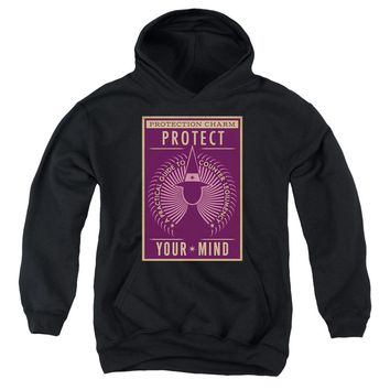 Fantastic Beasts - Protect Your Mind Youth Pull Over Hoodie