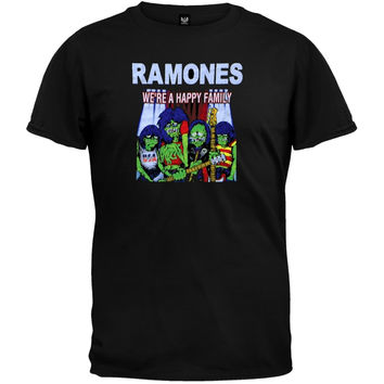 Ramones - Happy Family T-Shirt