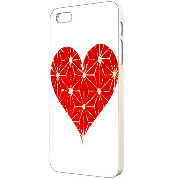 Heart iPhone Case - FREE Shipping to USA hearts iphone cases minimalist slim iphone 5 case heart art print stencil art cute iphone 4 case