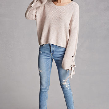 Fate Lace-Up Sweater