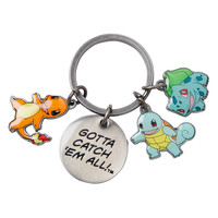 Pokemon Starters Charm Key Chain