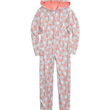 HOODED OWL Onesuit | GIRLS PAJAMAS SLEEP & UNDIES | SHOP JUSTICE
