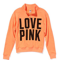 Perfect Half-zip - PINK - Victoria's Secret