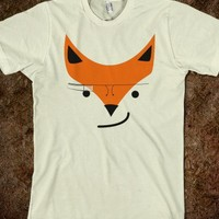 SMIRKING FOX GOOGLE GLASS