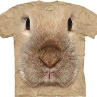 Bunny Face The Mountain Tee Shirt Child S-XL Adult S-XXX SIZE: Large adult
