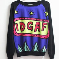 I Don't Give a F*** Sweater