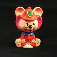 Vintage Chalkware Mort Mouse Coin Bank